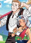 """Manga Read The Population of the Frontier Owner Starts With 0. """"Dias the Blue"""" and a Blue-Horned Girl."""
