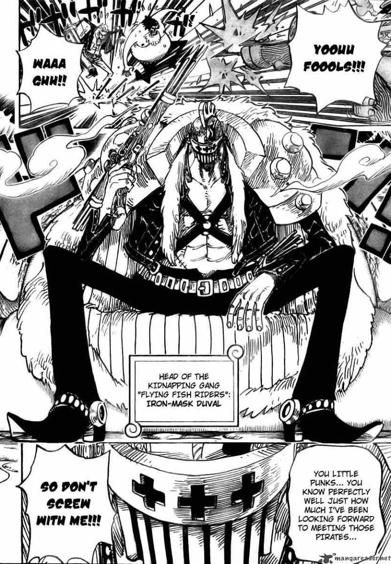 Read Manga One Piece - Chapter 492 - Iron-Mask Duval ...