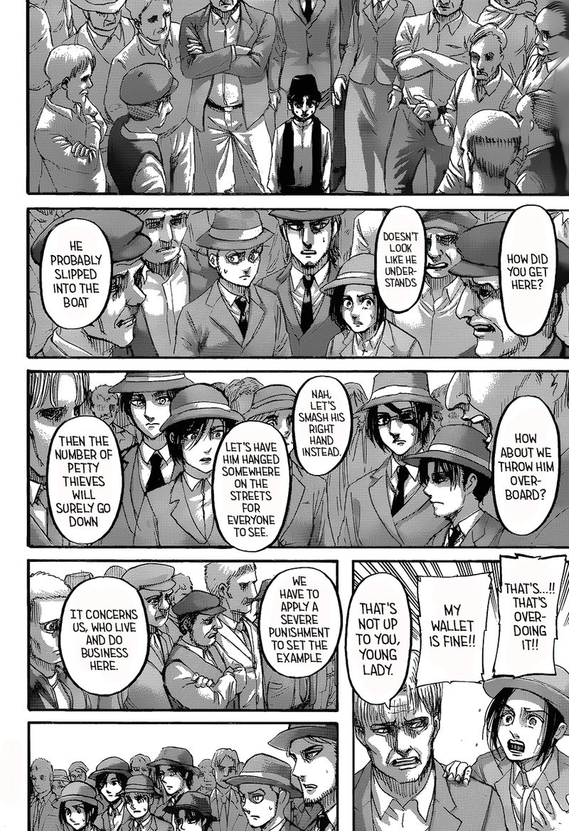 Read Manga Attack On Titan - Chapter 123 - Devils of the ...