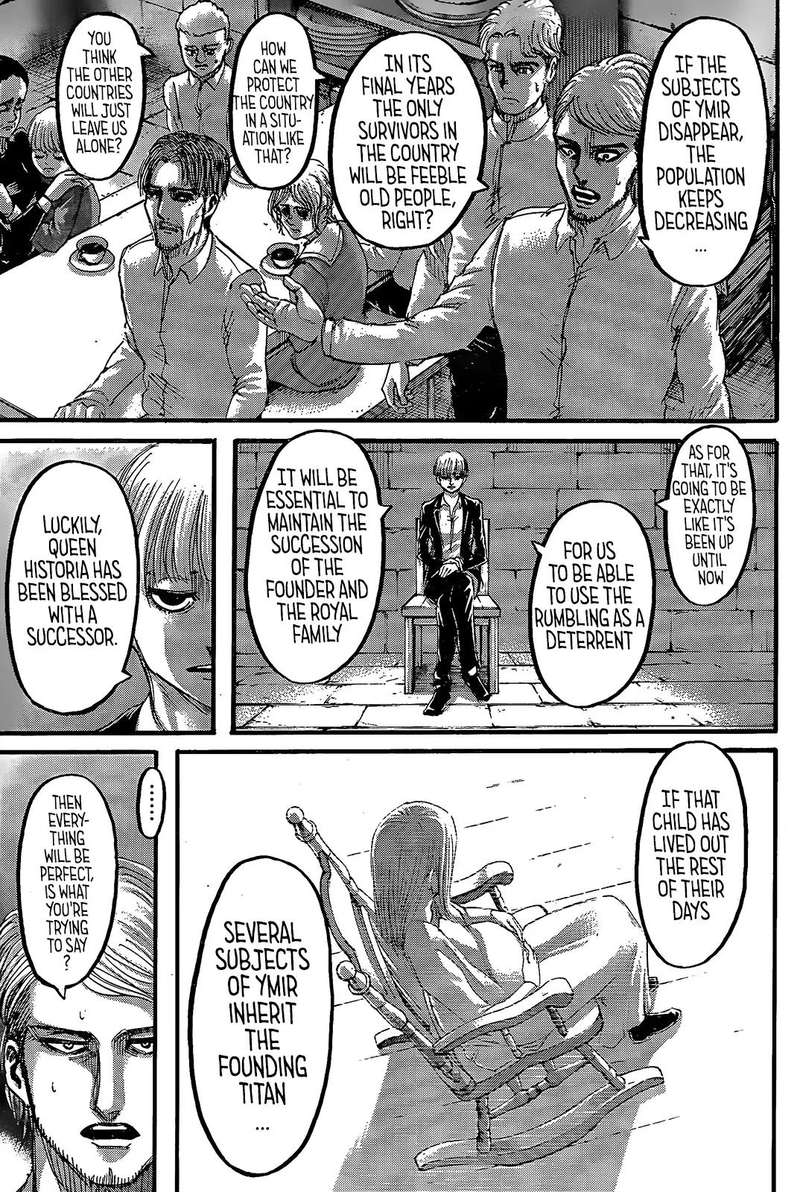 Read Manga Attack On Titan - Chapter 116 - Heaven and ...
