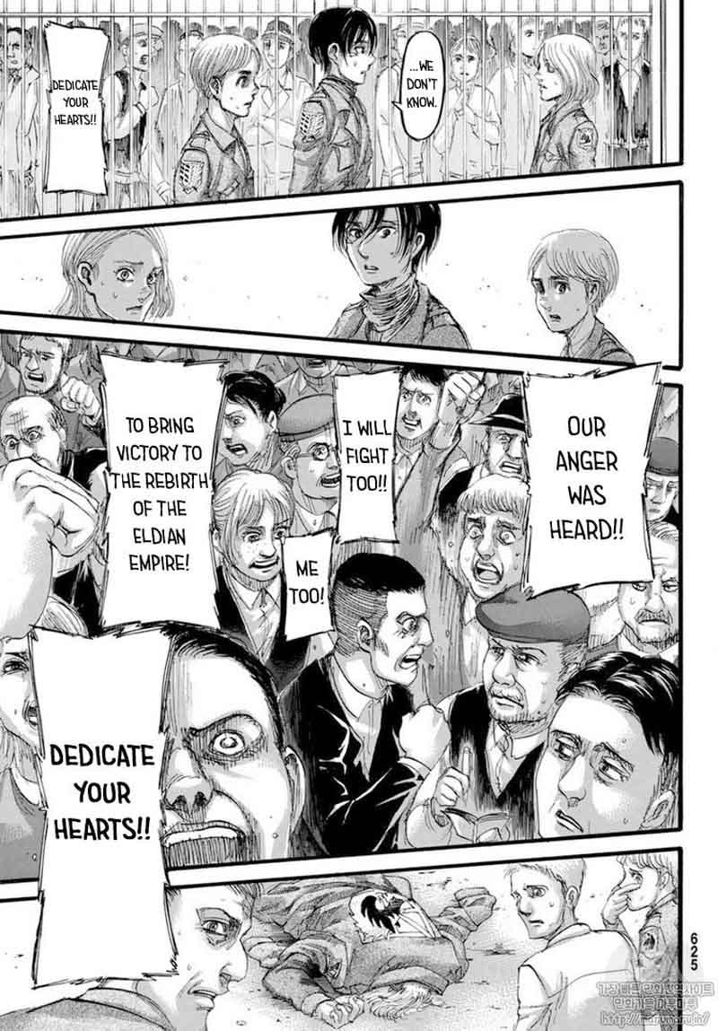 Read Manga Attack On Titan - Chapter 110 - Impostor - Read ...